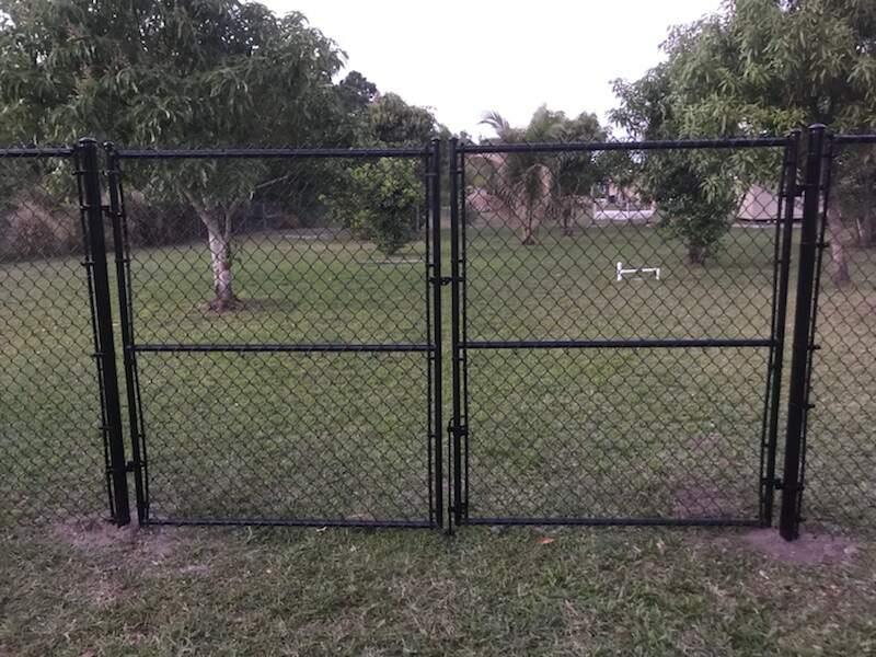 san bernardino in fencing installation